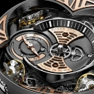 Roger Dubuis Excalibur Quatuor in Rose Gold - Dial