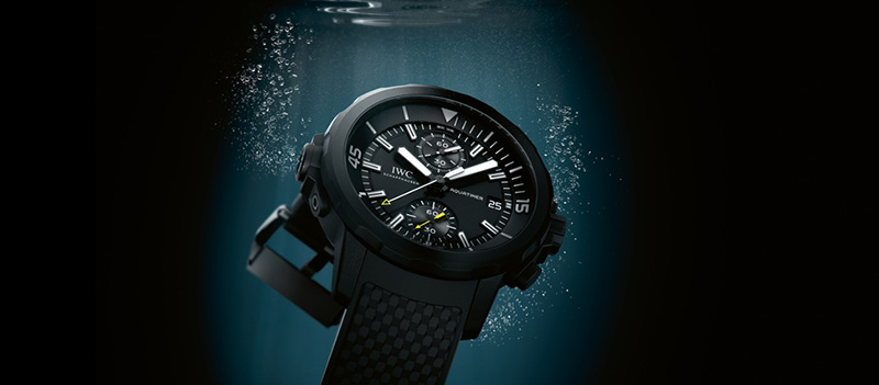 IWC Aquatimer Chronograph Edition Galapagos Islands Watch IW379502