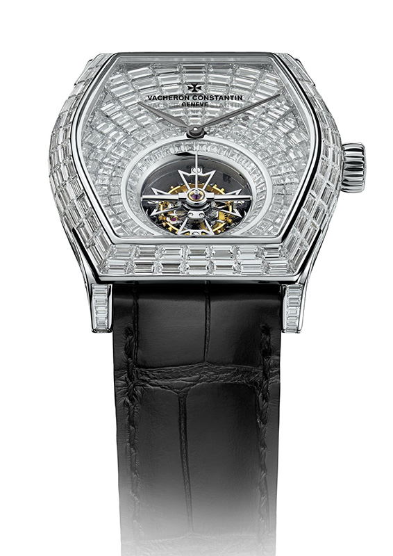 Vacheron Constantin Malte Tourbillon High Jewellery Watch Front