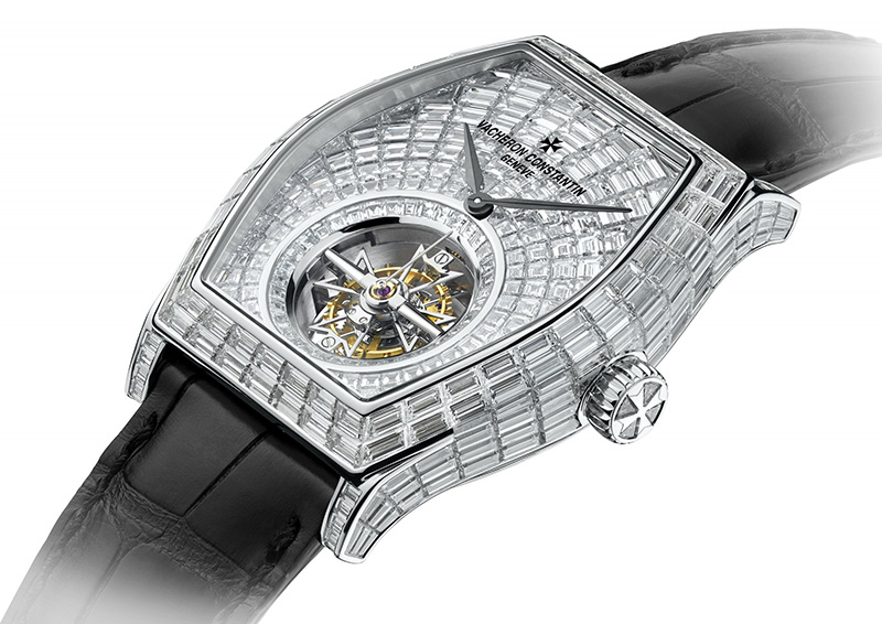 Vacheron Constantin Malte Tourbillon High Jewellery Watch