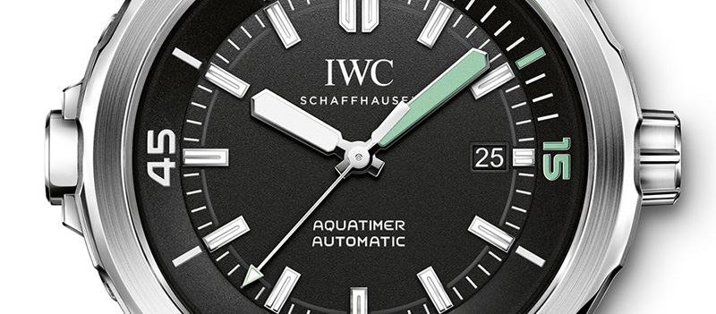 IWC Aquatimer 2014 Automatic Watch Dial