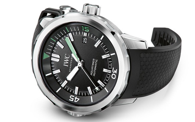 IWC Aquatimer 2014 Automatic Watch Front