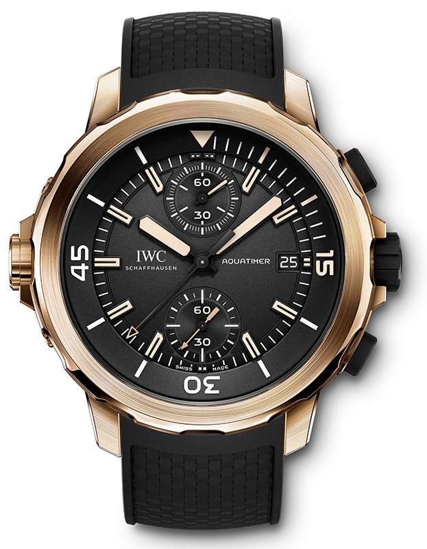 "IWC Aquatimer Chronograph Edition ""Expedition Charles Darwin"" Watch Front"