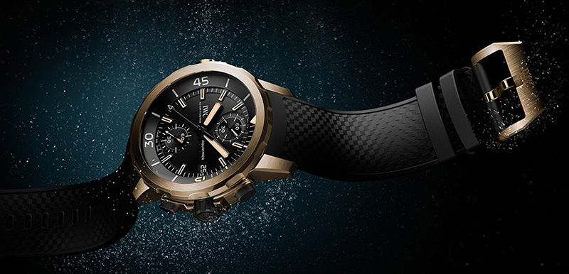 "IWC Aquatimer Chronograph Edition ""Expedition Charles Darwin"" Watch"