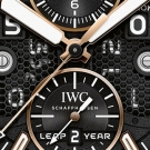 IWC Aquatimer Perpetual Calendar Digital Date-Month Watch Dial Detail