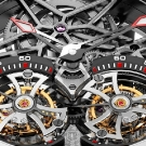 Roger Dubuis Excalibur Spider Double Flying Tourbillon Watch Dial Detail