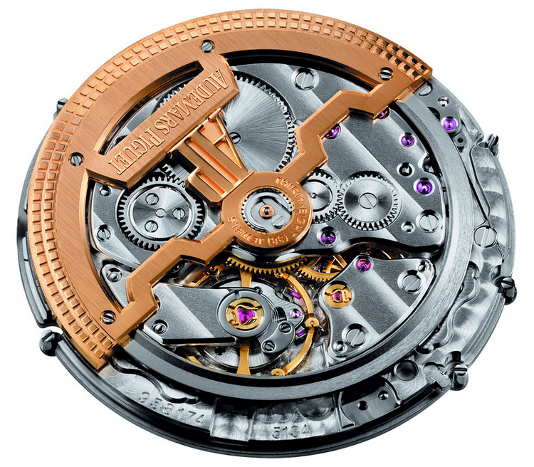 Audemars Piguet Caliber 5134 - Back