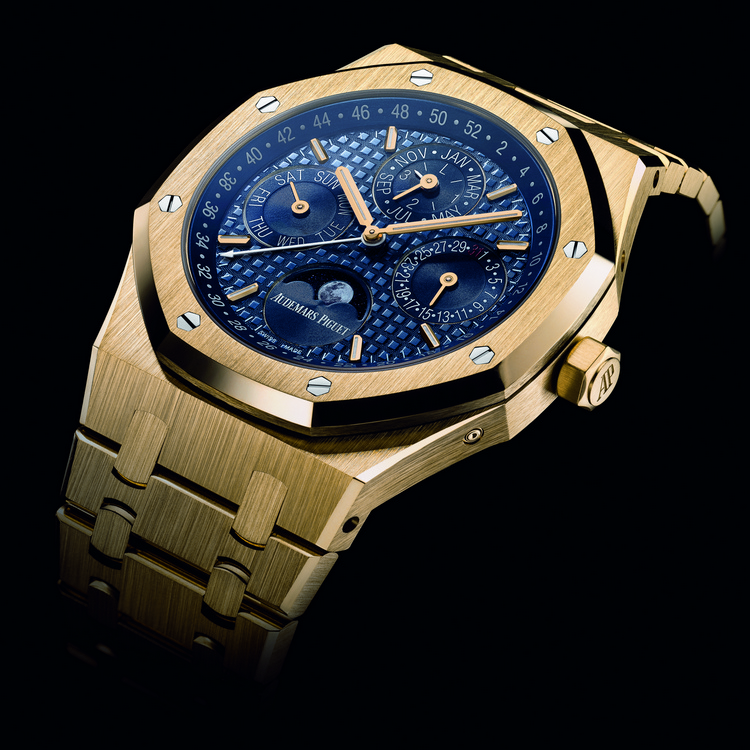 Audemars Piguet Royal Oak Perpetual Calendar Yellow Gold Watch
