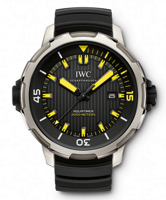 IWC Aquatimer Automatic 2000 Watch IW358001 - Front
