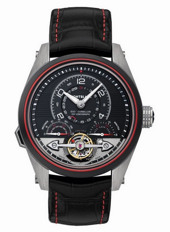 Montblanc Timewalker ExoTourbillon Minute Chronograph Watch Front