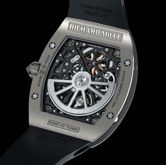 Richard Mille RM 67-01 Extra Flat Watch - Case Back