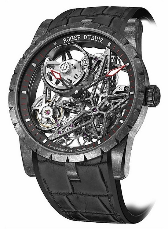 Roger Dubuis Excalibur Skeleton Carbon Watch