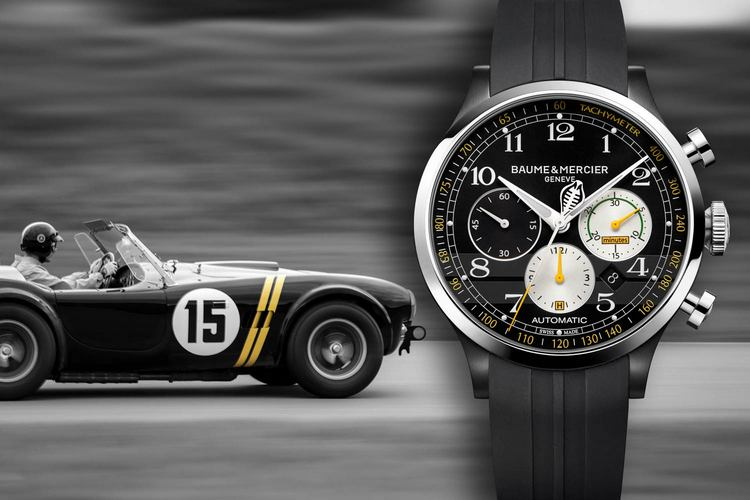 Baume & Mercier Capeland Shelby Cobra 1963 Competition Watch