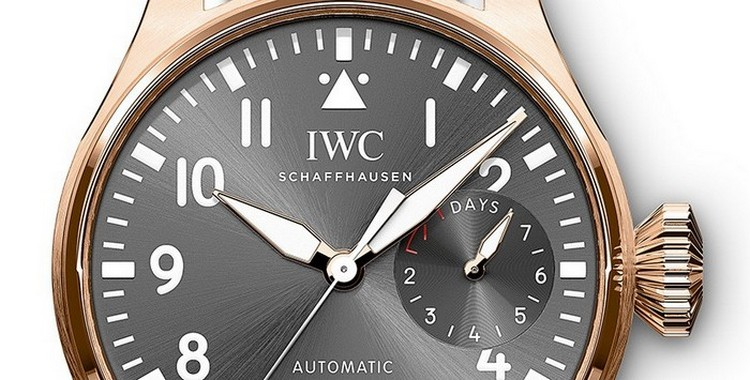 IWC Big Pilot's Spitfire Watch Dial
