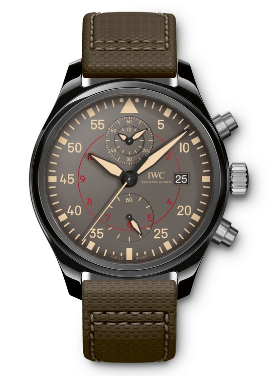 IWC Pilot's Watch Chronograph TOP GUN Miramar - Front