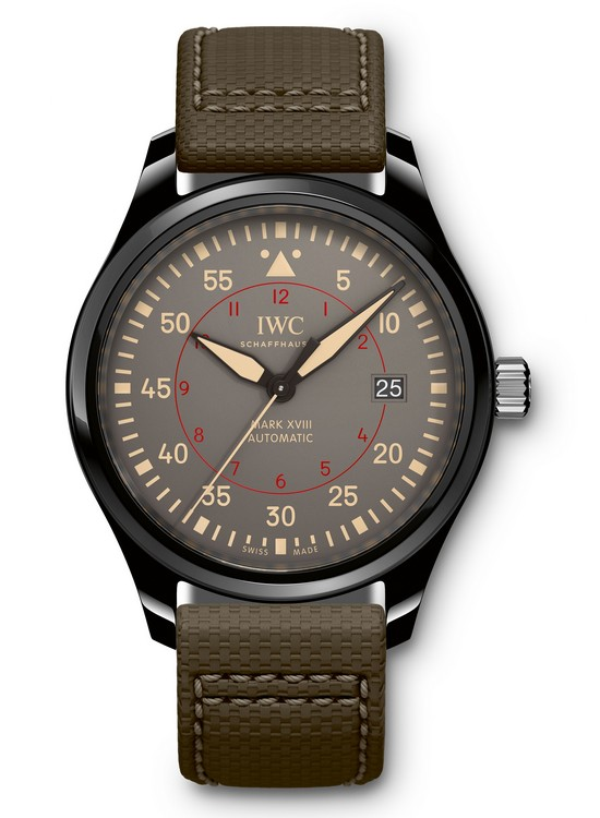 IWC Pilot's Watch Mark XVIII TOP GUN Miramar - Front