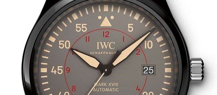 IWC Pilot's Watch Mark XVIII TOP GUN Miramar - Dial