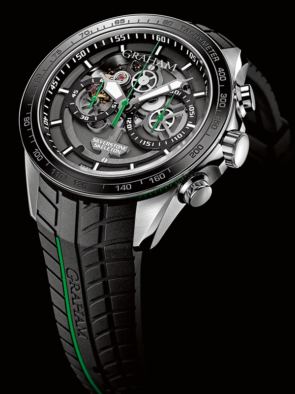 Graham New Silverstone RS Skeleton Chronograph Watch