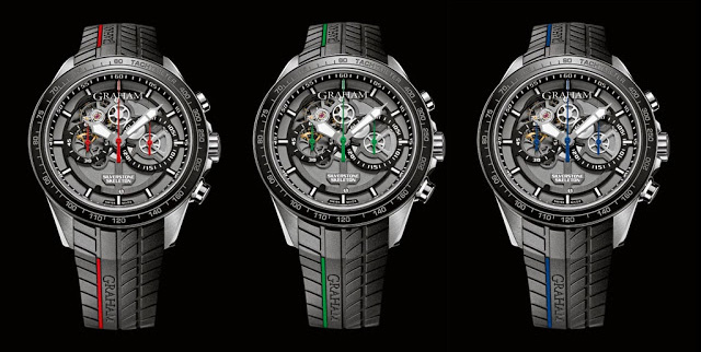Graham New Silverstone RS Skeleton Chronograph Watches