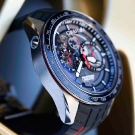 Graham New Silverstone RS Skeleton Chronograph Watch Side