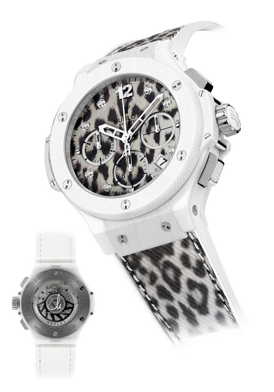 Hublot Snow Leopard Maria Höfl-Riesch Big Bang Watch