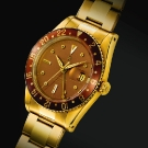 Rolex Automatic Dual Time Zone Yellow Gold Watch
