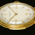 Vacheron Constantine Yellow Gold Minute Repeater Two Tone Silver Dial Watch