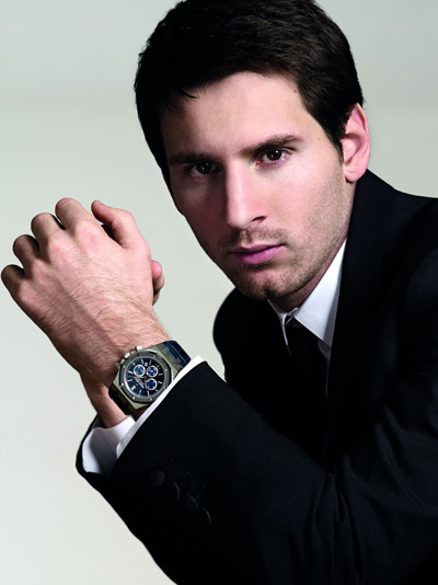 Audemars Piguet Royal Oak Leo Messi Number 10 Watch Sotheby's Auction