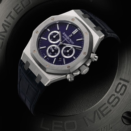 Audemars Piguet Royal Oak Leo Messi Number 10 Watch