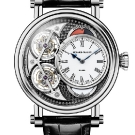 Speake-Marin Black Magister Vertical Double Tourbillon Watch Front