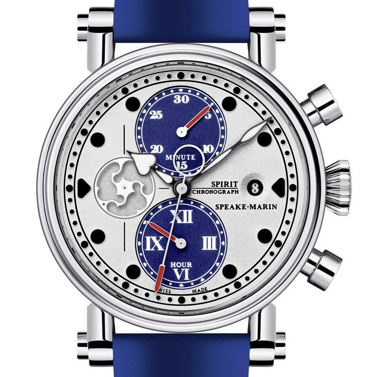 Speake-Marin Blue Spirit Seafire Watch Dial