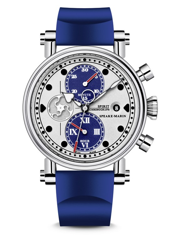 Speake-Marin Blue Spirit Seafire Watch Front