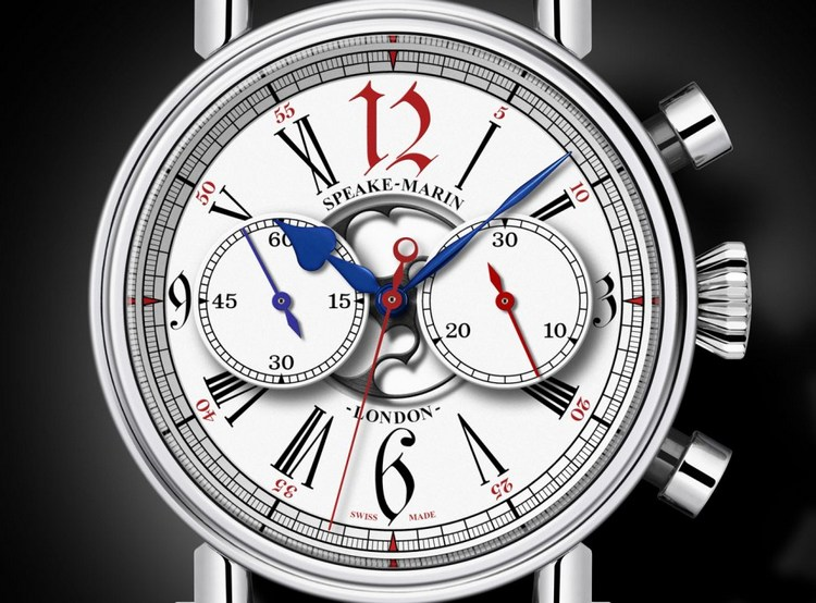 Speake-Marin London Chronograph Special Edition Watch Dial