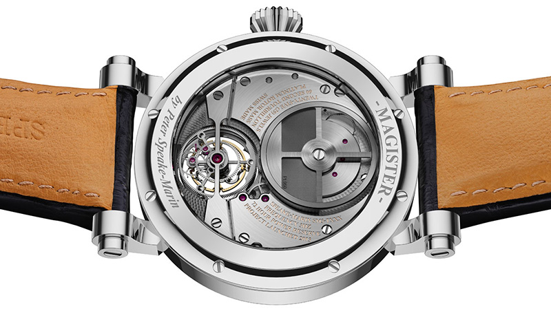 Speake-Marin Magister Tourbillon Watch Case Back