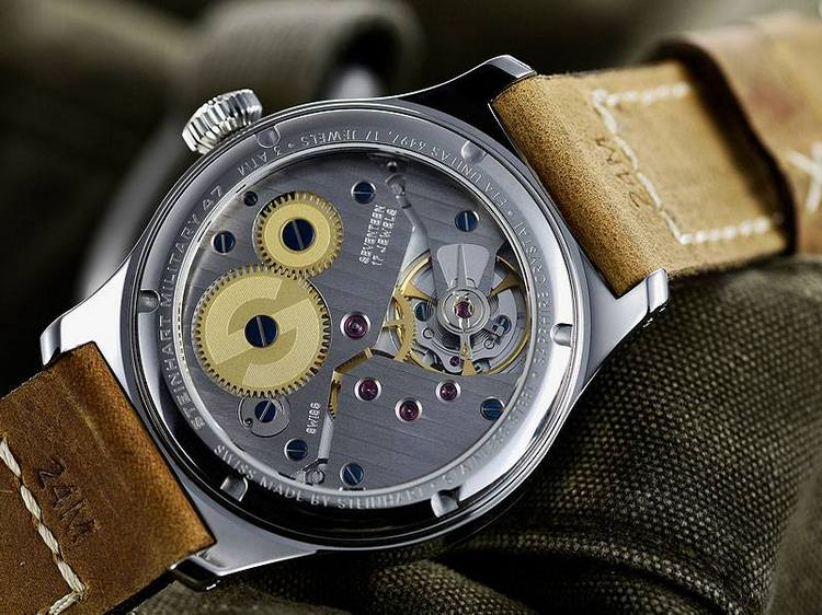 Steinhart Military 47 Watch Back