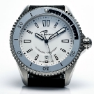 Steinhart Ocean Two White Dial Watch Front