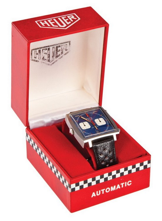 Steve McQueen Heuer Monaco Watch Box