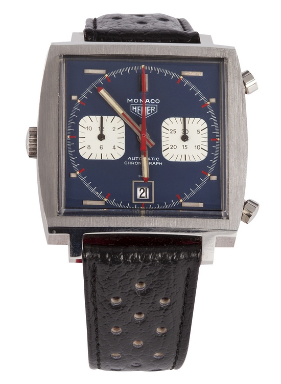 Steve McQueen Heuer Monaco Watch