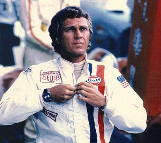 Steve McQueen Movie Lemans - Heuer Monaco Watch