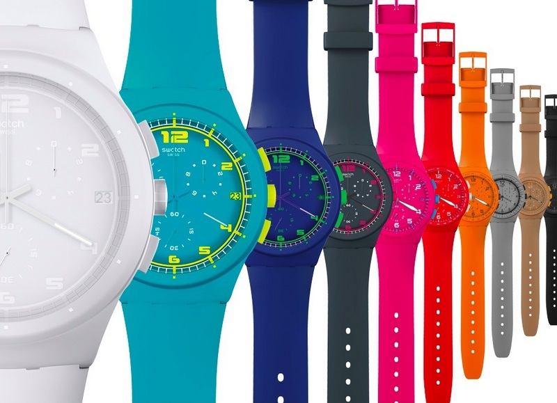 Swatch Chrono Plastic Watches