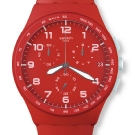 Swatch Chrono Plastic Watch - Red Shadow