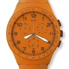 Swatch Chrono Plastic Watch - Wild Orange
