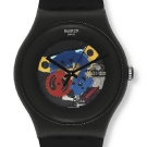 Swatch Originals Family Gent Lacquered Watch Black