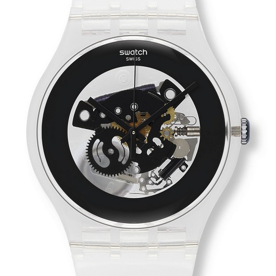 Swatch Black Ghost Watch