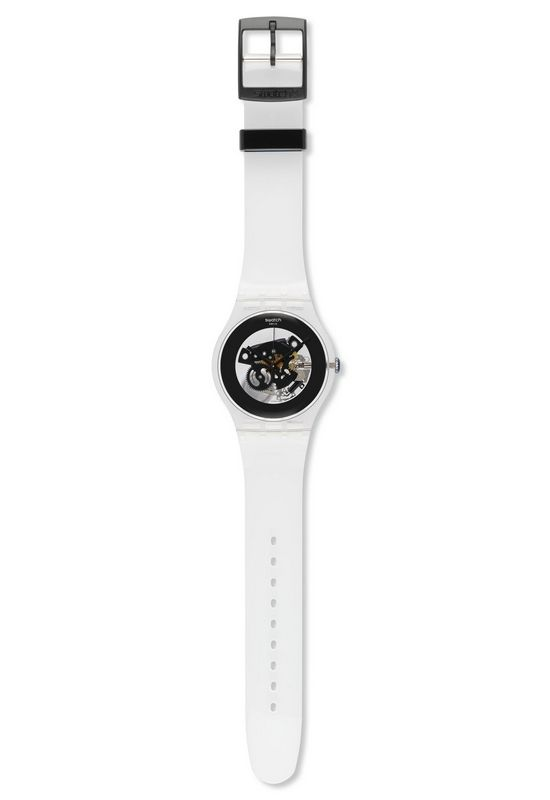 Swatch Originals Collection Black Ghost Watch