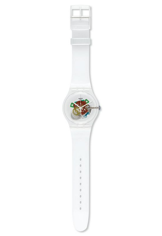 Swatch Originals Collection Random Ghost Watch