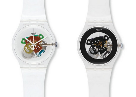 Swatch Random and Black Ghost Watches