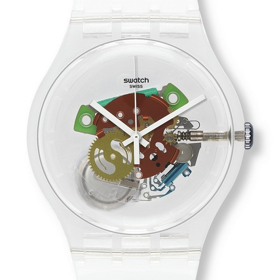 Swatch Random Ghost Watch