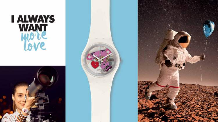 Swatch Valentine's 2016 Special Edition Watch