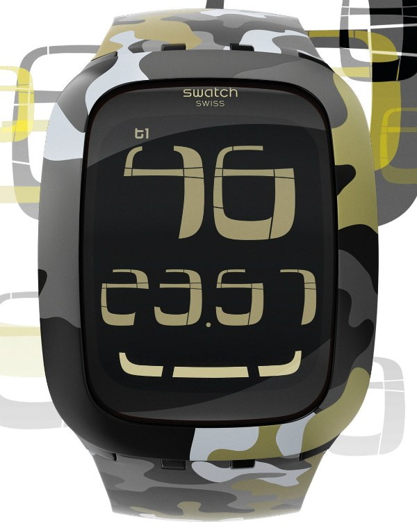 Swatch Touch 2011 Camouflage Watch